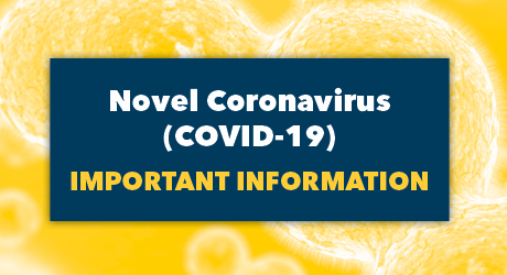 GW Official Novel Coronavirus Link Button